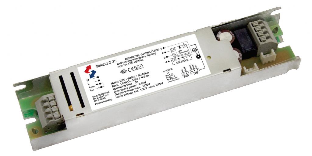 Safe 2 LED 3S